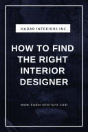 How to Find the Right Interior Designer