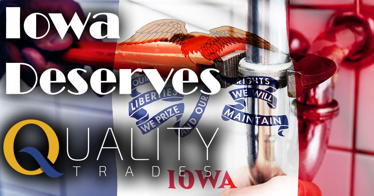 Iowa plumbers