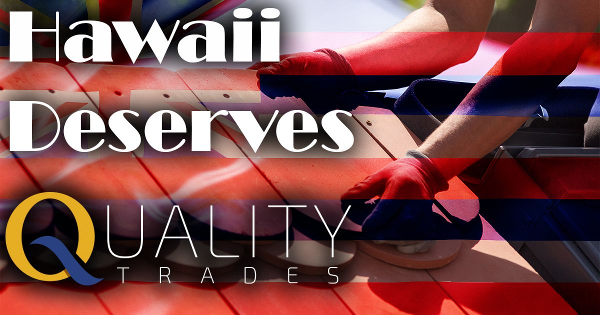 Hawaii roofing contractors